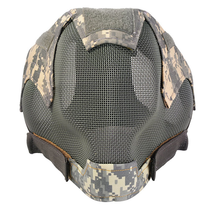 Coxeer Full Face Airsoft Mask Front