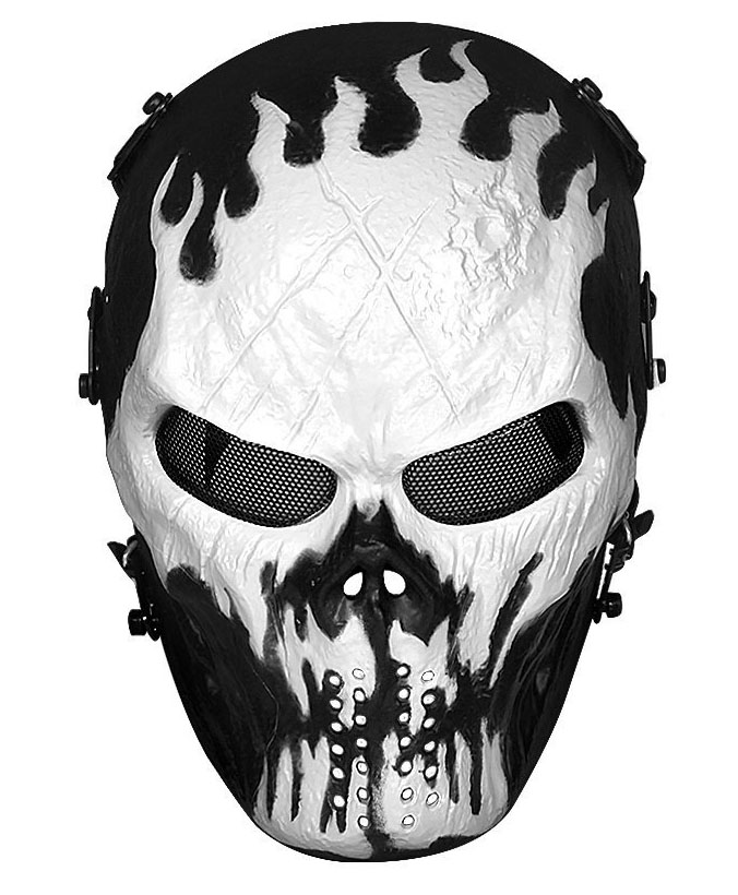 OutdoorMaster Half Face Airsoft Mask