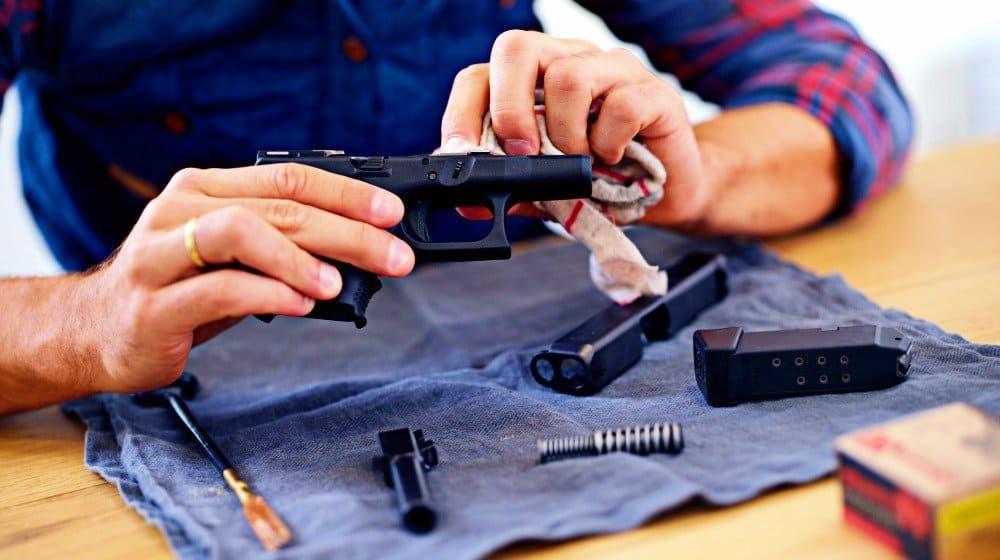 clean airsoft gun