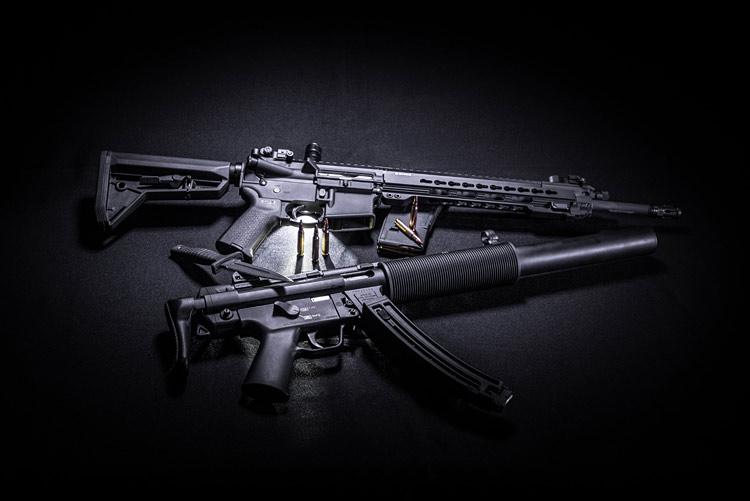 MACHINE GUN HIGH TOY SET FLASHING LIGHTS AND SOUND SUPERIOR SUPER POWER BAYONET