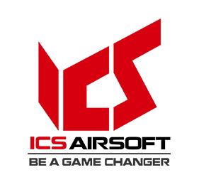 ICS airsoft brand logo