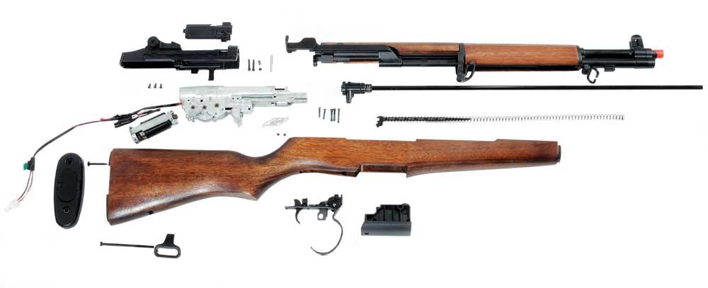 Inside of ICS M1 garand gun